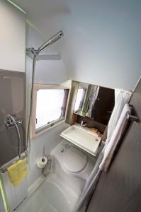 ERGO badeværelset med 3 funktioner i 2 moduler på 1 kvadratmeter...