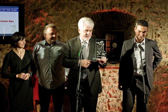 """I 2011 modtog ADRIA DANMARK en Adria Award for """"særlig salgsindsats""""."""
