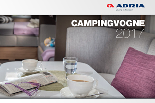 2017 ADRIA campingvogne